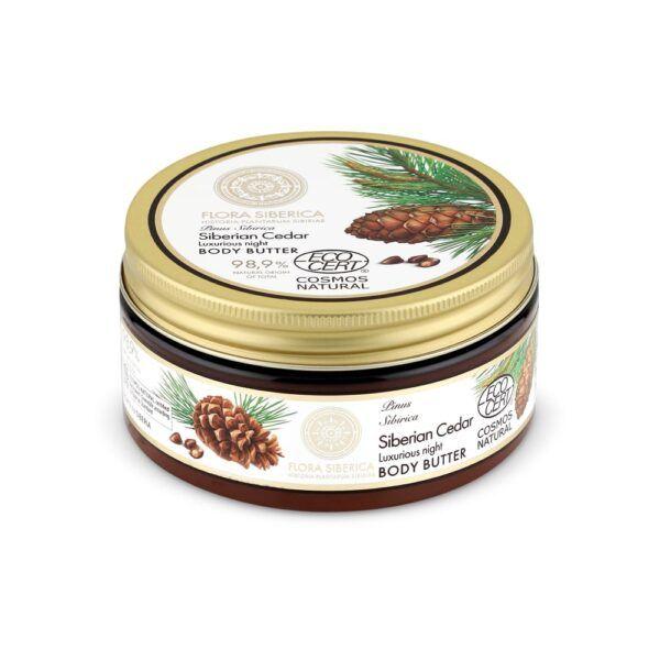 Bogato maslo za telo iz sibirskega bora – Flora Siberica, 300 ml – Natura Siberica