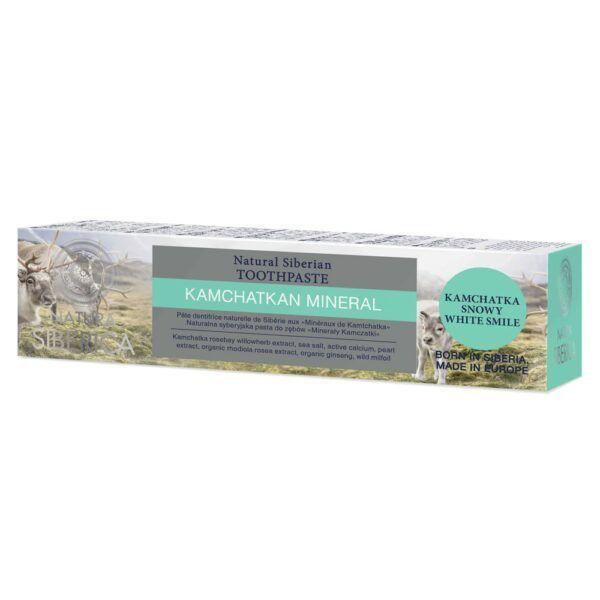 Naravna zobna pasta Mineral kamčatke, 100 g - brez fluora – Natura Siberica