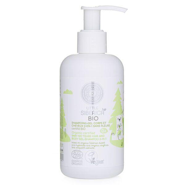 Ekološki otroški šampon in gel za prhanje - 2 v 1, 250 ml – Natura Siberica