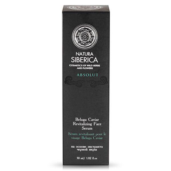Poživljajoči serum za obraz iz kaviarja Beluge, 30 ml – Natura Siberica