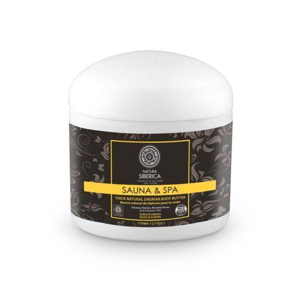 Bogato daursko maslo za telo sauna & spa, 370 ml – Natura Siberica
