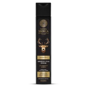 Šampon za moške proti prhljaju, Moč sibirskega jelena, 250 ml – Natura Siberica