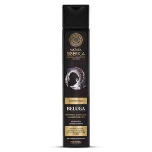 Šampon za moške proti izpadanju las Beluga, 250 ml – Natura Siberica